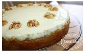 Cheesecake au fromage blanc et citrouille