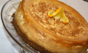 Recette cheesecake a l'orange