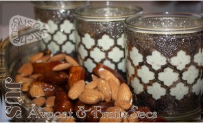 Jus d'avocat et fruits secs – Ramadan