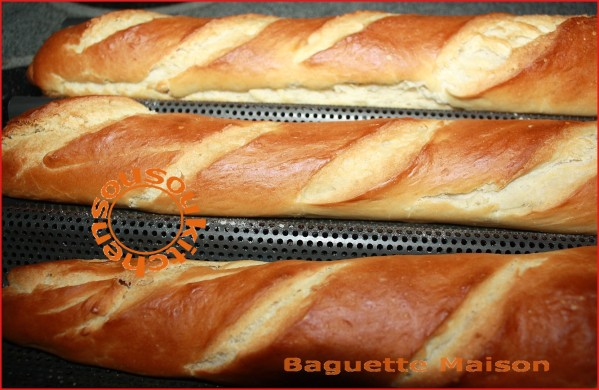 recette de baguette maison sousoukitchen. Black Bedroom Furniture Sets. Home Design Ideas