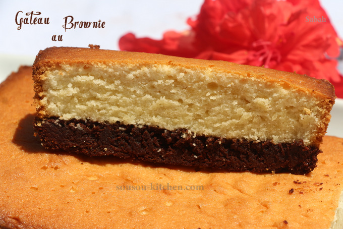 Gateau au brownie