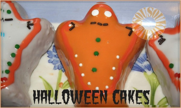 Recette halloween cupcakes et decoration for Idee deco gateau halloween