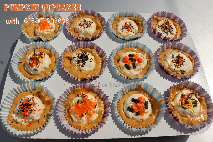 pumpkin cream cheese cupcakes6