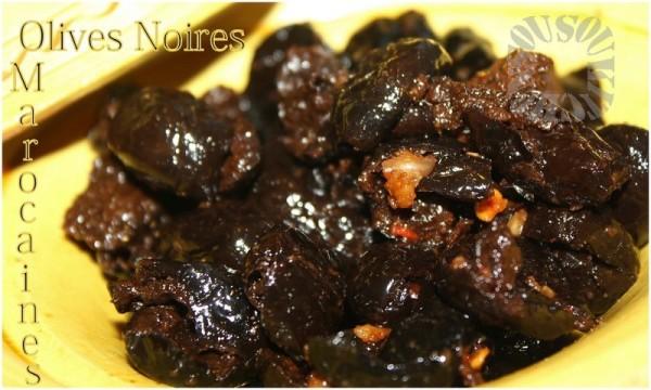 Olives Noires à La Marocaine Recette De Ma Mère Sousoukitchen