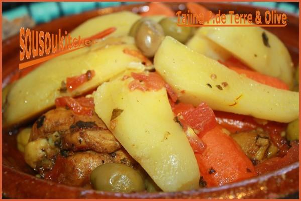 Tajine De Poulet Pommes De Terre Et Olives طاجين الدجاج البطاطة