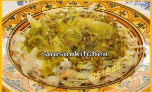 Rfissa au poulet – الرفيسة المغربية