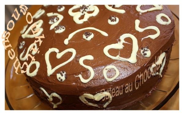 Gateau Danniversaire Au Chocolat Sousoukitchen