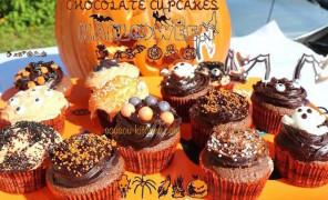 Cupcake au chocolat de Halloween