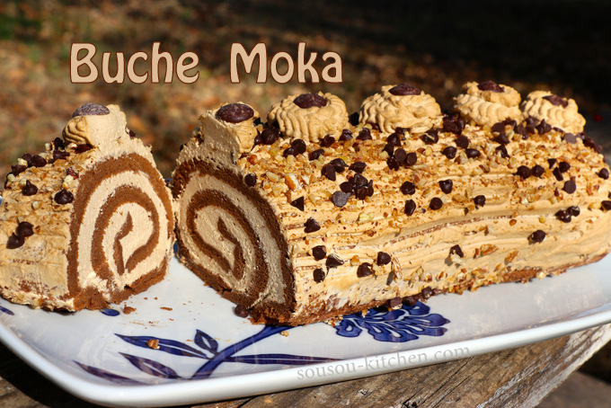 Buche de noel aux moka