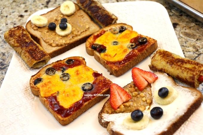Idées faciles et rapides de petit déjeuner pour enfant ...