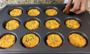 Vlog-Samedi soir avec la famille-Muffins aux oeufs et légumes