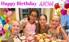 L'anniversaire d'Aicha (Partie 1)- Recette de Cupcakes facile et rapide